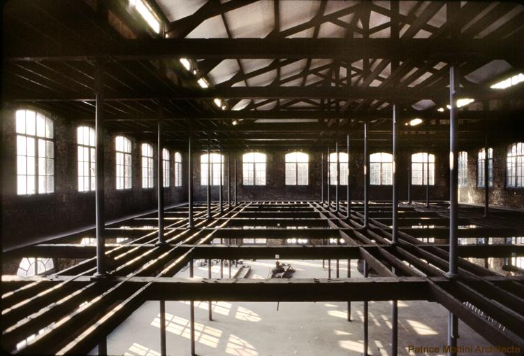 Chantier de l 39 ensa de normandie patrice mottini for Photo d architecture