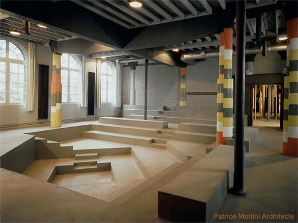 ecole d 39 architecture de normandie patrice mottini amphit atre. Black Bedroom Furniture Sets. Home Design Ideas