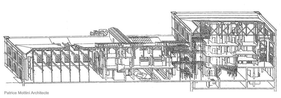 ecole d 39 architecture de normandie patrice mottini axonom trie de l 39 ecole. Black Bedroom Furniture Sets. Home Design Ideas